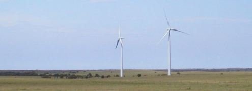 Elk River Wind turbines